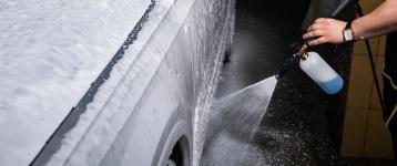 Mycie detailingowe samochodu