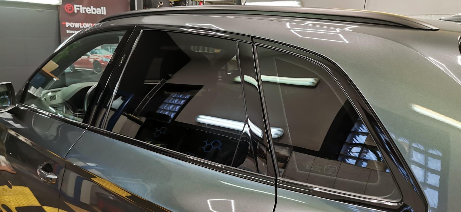 Przyciemnianie szyb w samochodzie