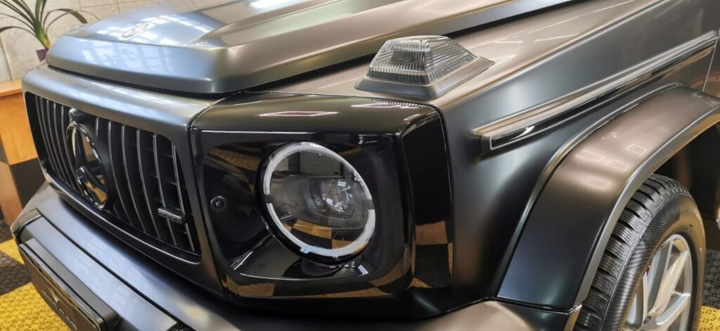 Mercedes AMG-G63 i folia ochronna PPF